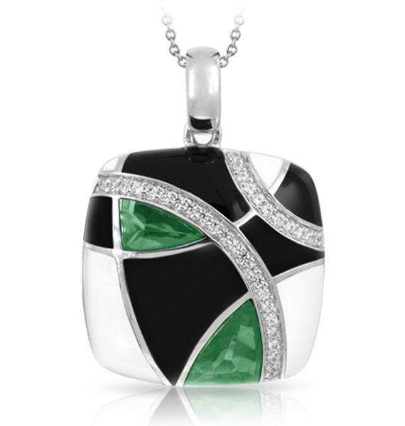 Tango emerald green pendant
