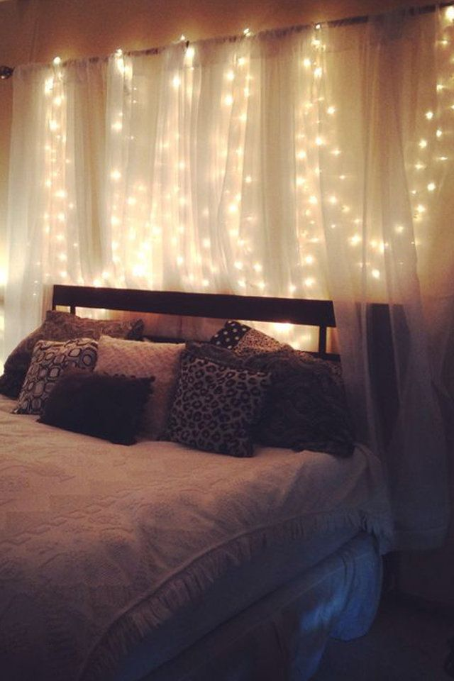 Pinterest Glowupx In 2019 Bedroom Lighting Diy Curtains
