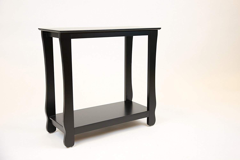 Pearington Fully Assembled Thick Leg Side End Table Black Finish Black End Tables Living Room End Tables Round Coffee Table Living Room [ 1000 x 1500 Pixel ]