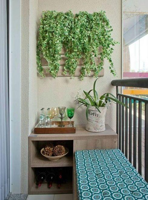 varanda pequena decorada decoracion Pinterest Balcones