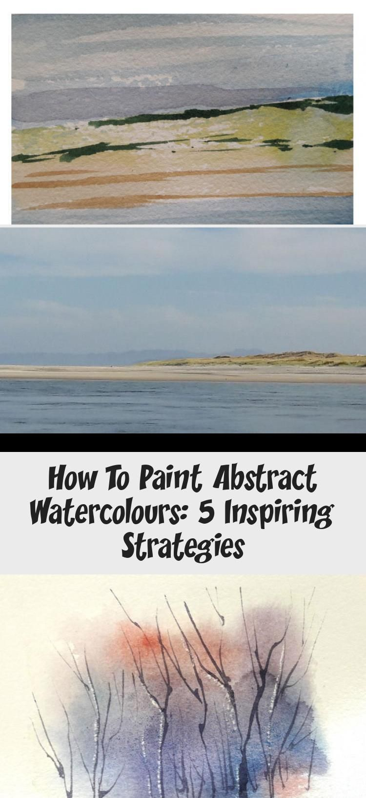 Abstract watercolor painting tutorial In this blog post I explain How to paint