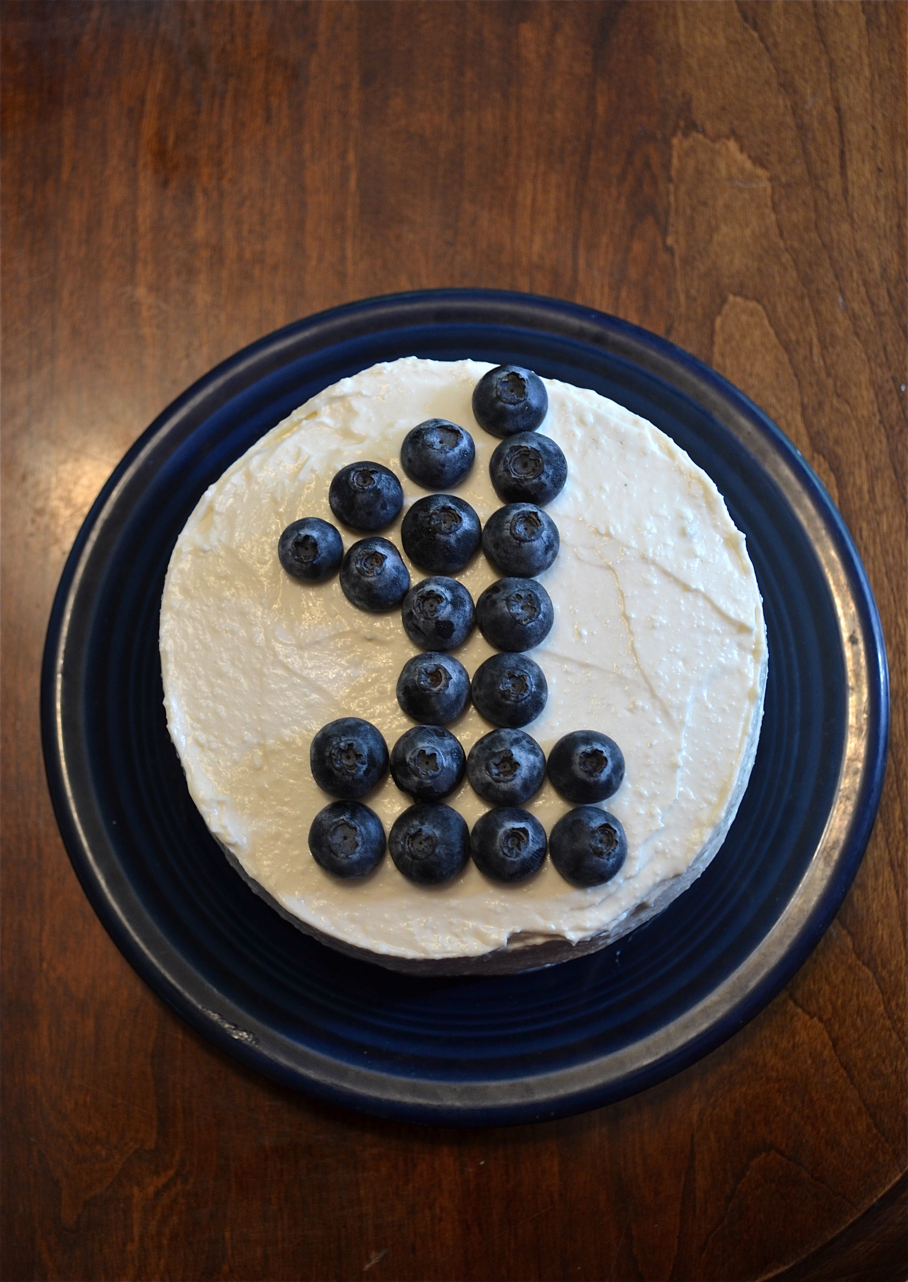 cake on number