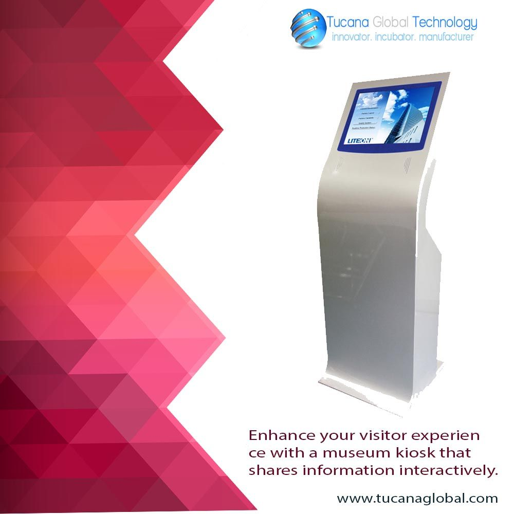 Enhance your #visitor experience with a #museum #kiosk that shares #information #interactively. #TucanaGlobalTechnology #Manufacturer #HongKong