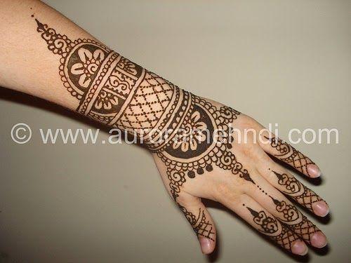 Mehndi For Teenage Girls : Design henna tattoo hand arm stars small teen girls
