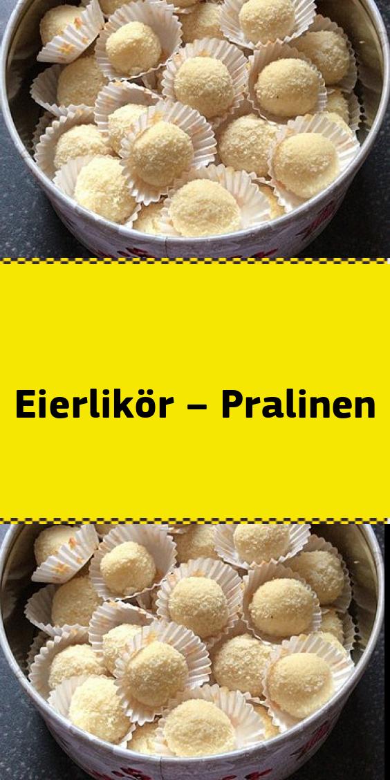 Eierlikor Pralinen Eierlikor Pralinen Kekse Rezept Einfach
