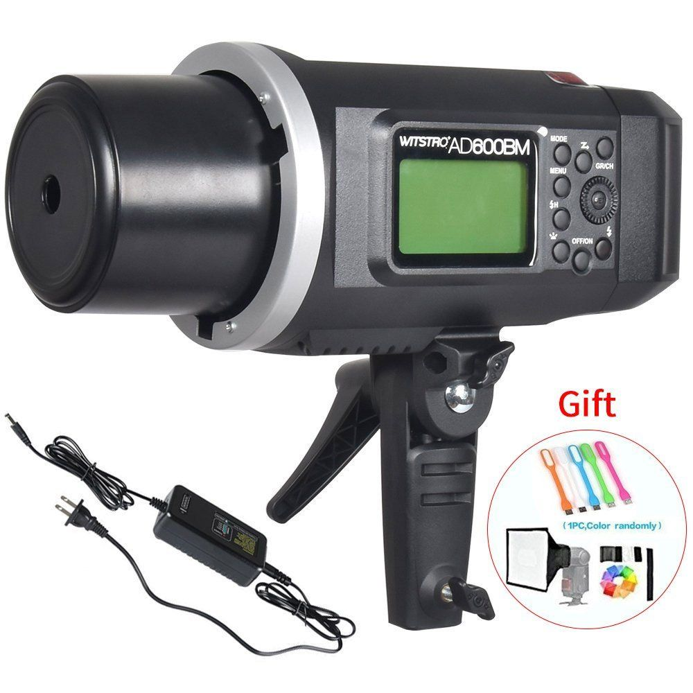 Outdoor Strobe Light Amazon godox ad600bm bowens mount 600ws gn87 high speed sync godox bowens mount high speed sync outdoor flash strobe light with wireless x system battery to provide 500 full power flashes recycle in second workwithnaturefo