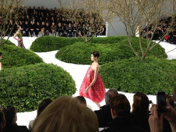DIOR Haute Couture - printemps/été 2013