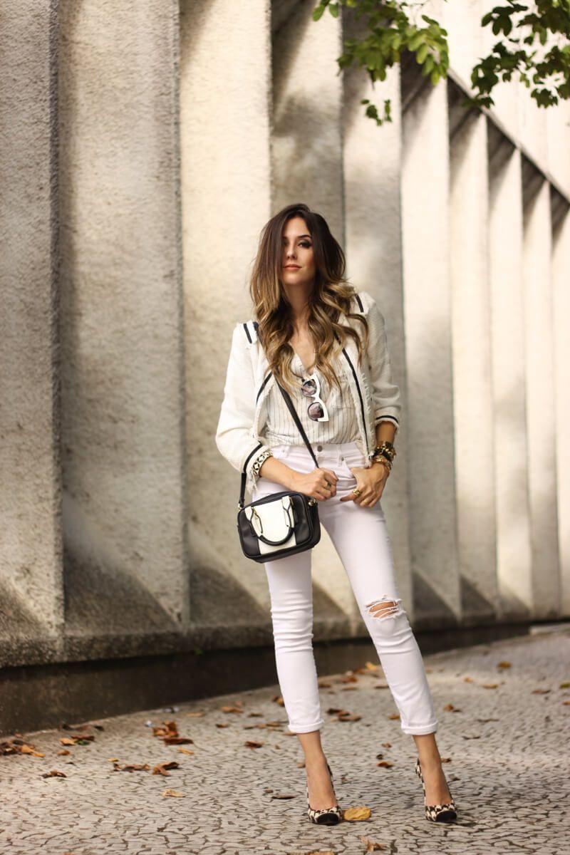 a31c635b98e9 FashionCoolture - 03 24 2016 look du jour white outfit pied de poule heels denim  (1) Fashion Coolture waysify