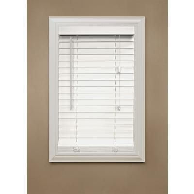 Designview 2 Inch Faux Wood Blind White 42 Inch X 48 Inch