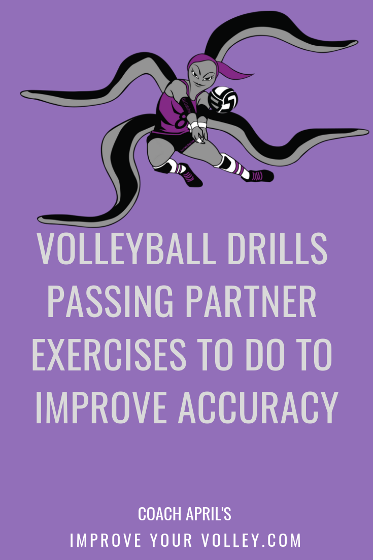 Volleyball Drills Passing Partner Exercises To Do To Improve Accuracy Volleyball Passing Drills Volleyball Practice Coaching Volleyball