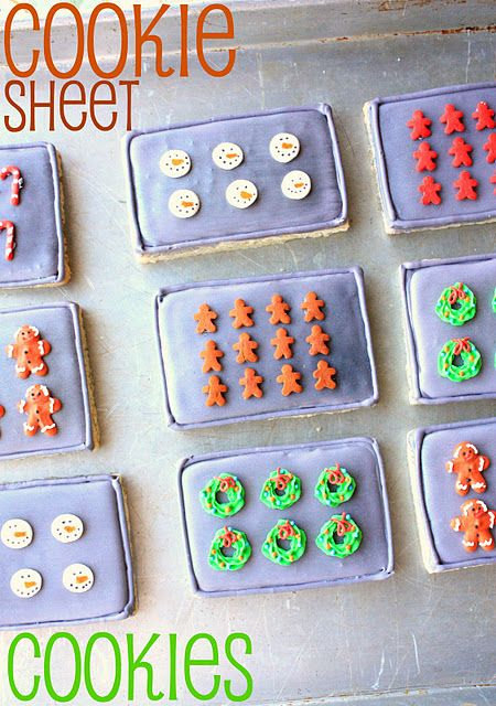 cookie sheet cookies- for a baking party or a cookie swap