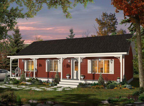 Les Maisons Bonneville | Our Dream House | Pinterest | Bungalow ...