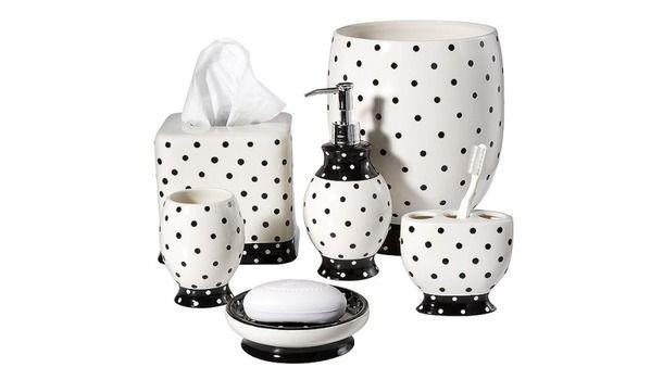 Black and white polka dot:)