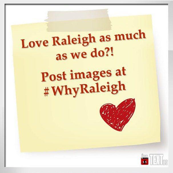 #whyraleigh at @raleighplanning www.shoplocalraleigh.org