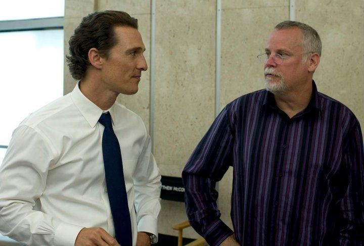 My favorite author michael connelly with the star of