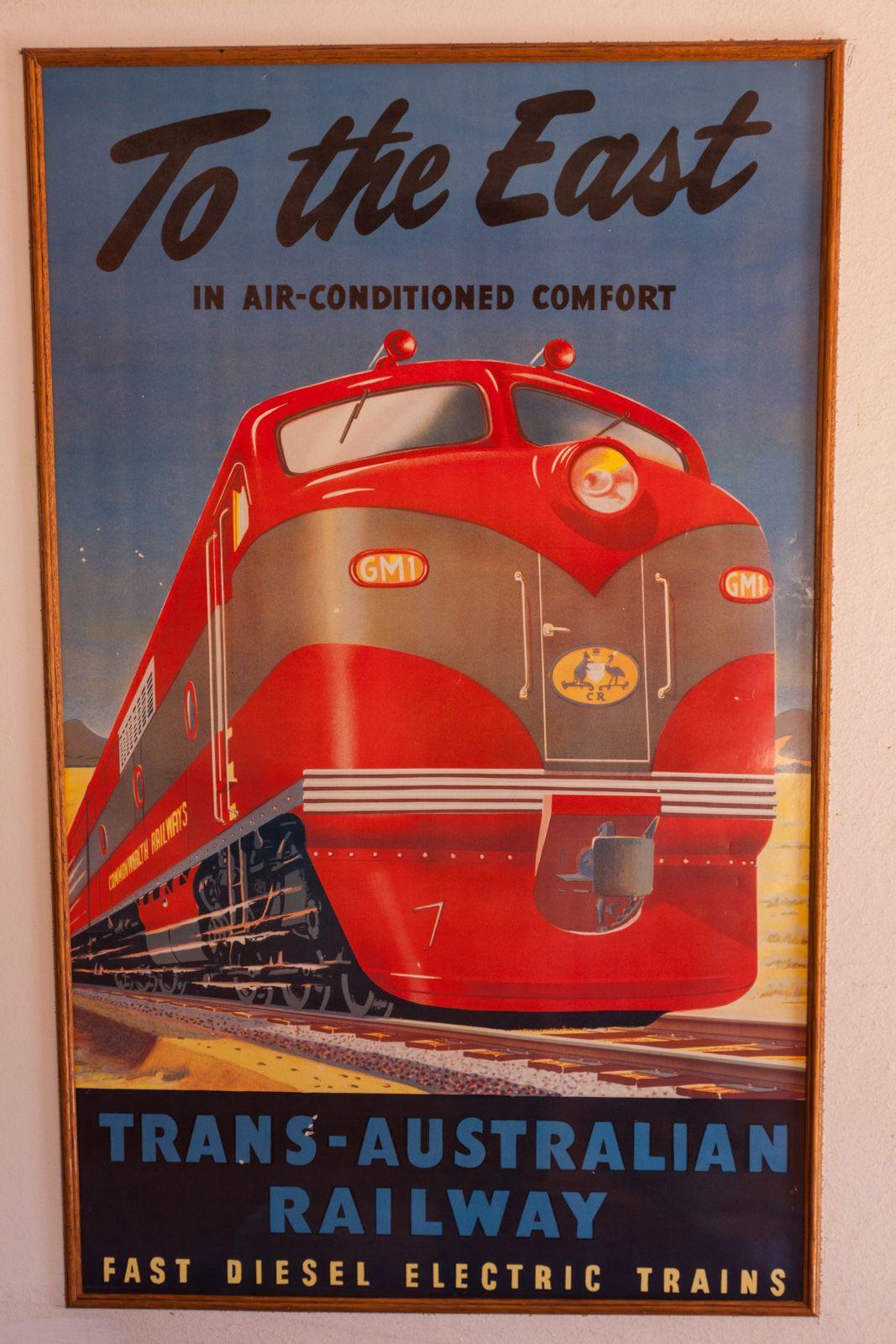 New Orleans Louisiana Railroad Vintage United States Trvel Advertisement Poster