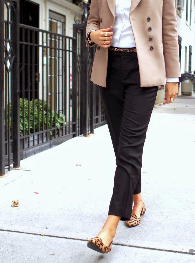 black cropped dress pants - Pi Pants