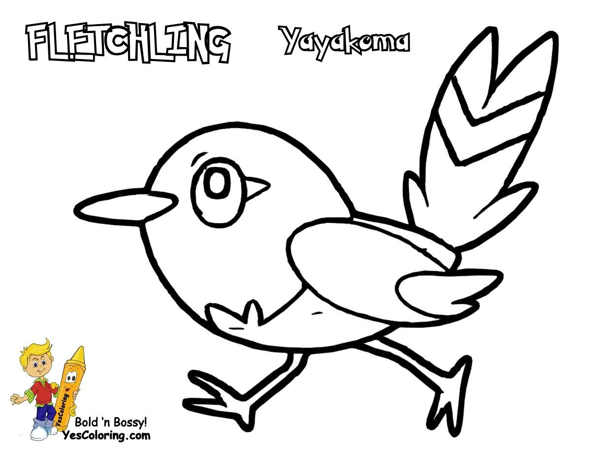 Pokemon Fletchling Coloring Pages From The Thousand Photographs On The Net Regarding Pokemon Fle Coloring Pages Cartoon Coloring Pages Pokemon Coloring Pages