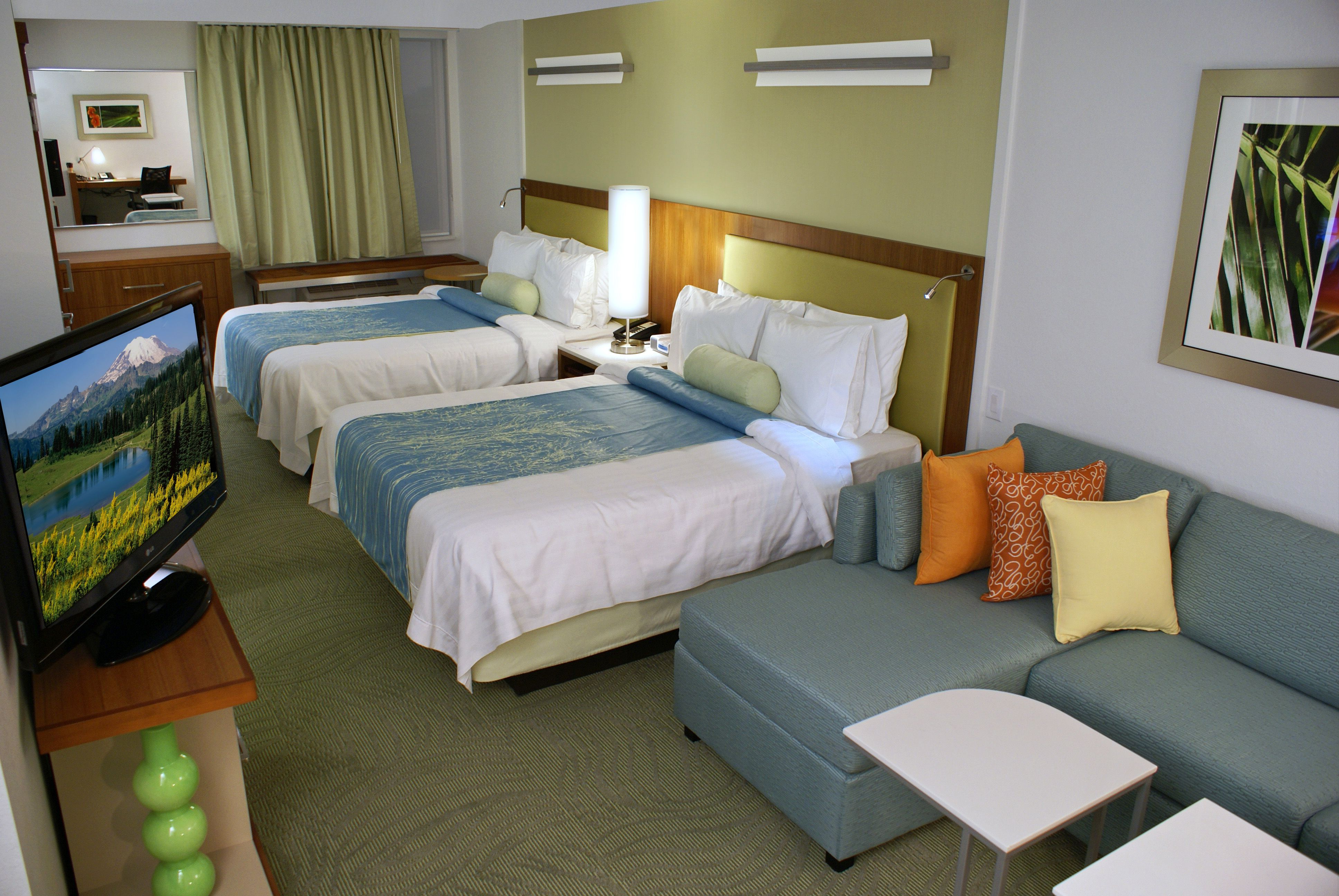 rest your head on the comfortable beds at the marriott springhill