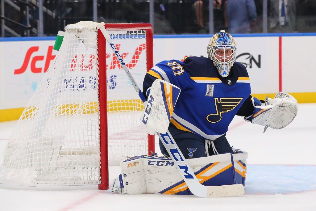 Binnington is among the NHL's 'Three Stars' after Blues