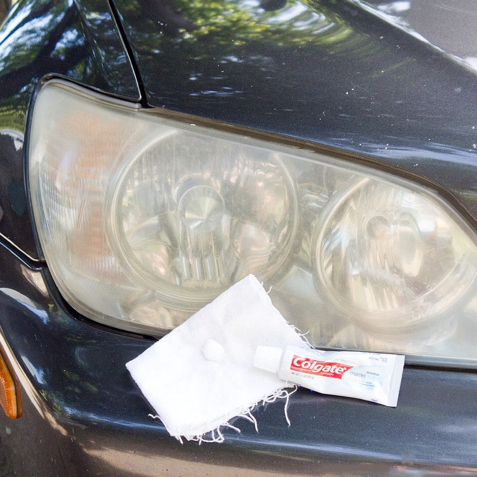 Easily restore foggy unclear headlight how to clean