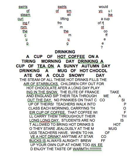 Beautiful Poem Shape Maker