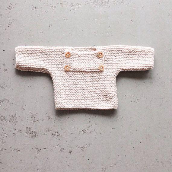 een warm truitje die je ook als jasje kunt gebruiken van Fennysfinest op Etsy