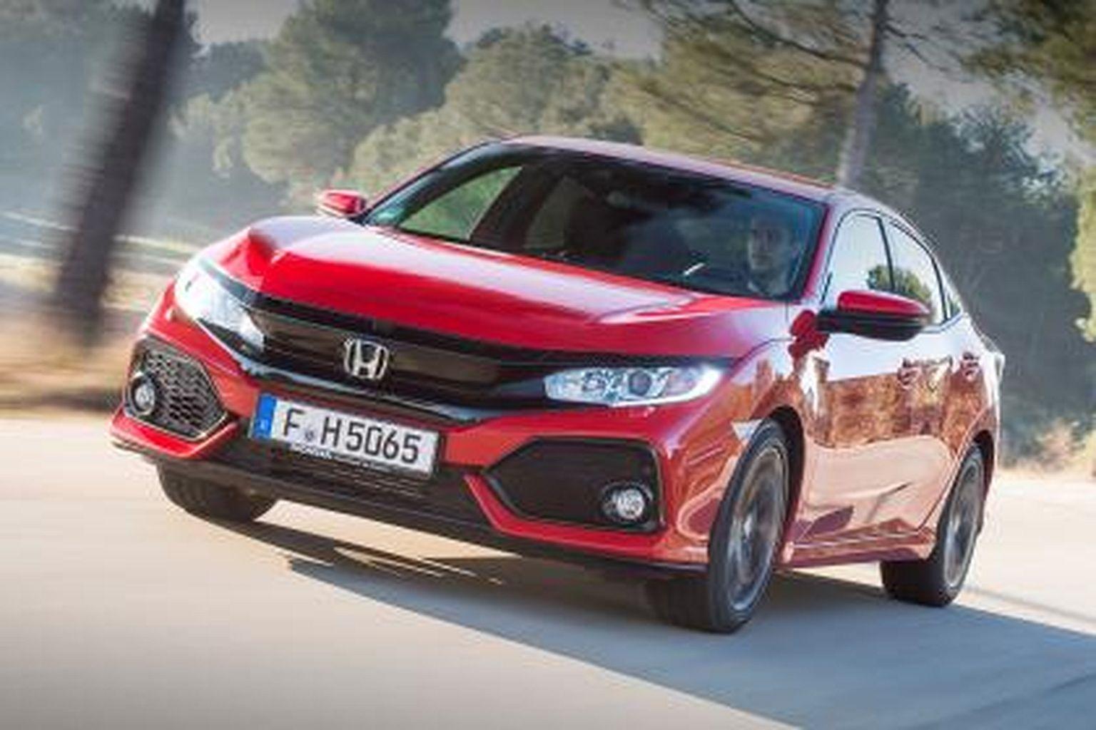 Display Cars Honda Civic Hatchback 2017