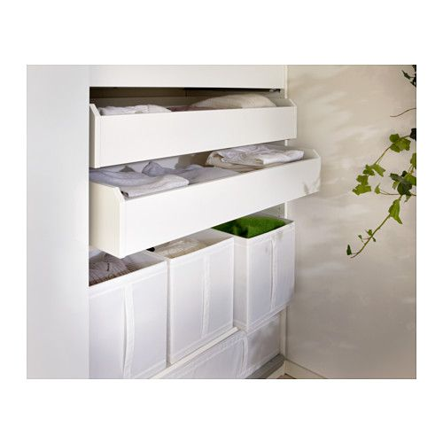 Skubb Box White 12 X13 X13 31x34x33 Cm Ikea Rangement Tissu Tissu Blanc Boite Ikea
