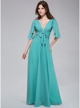 Abendkleider | Chiffon abendkleider, Kleider für besondere ...
