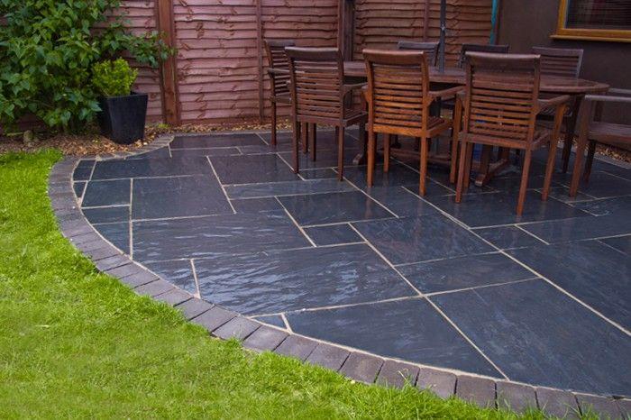 blue black slate patio nustone products ltd uk worth