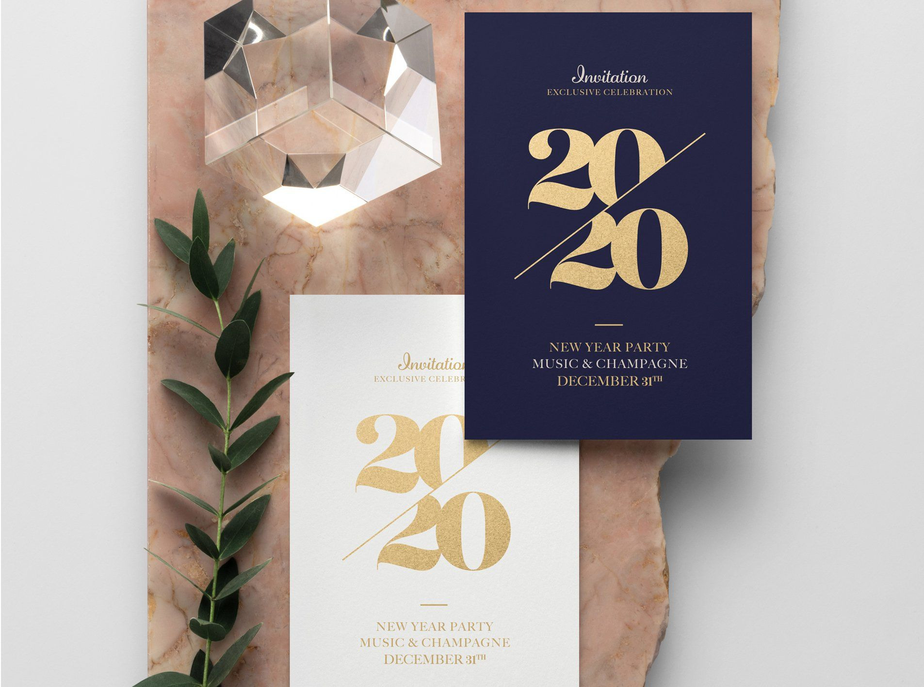 2020 New Year Eve Invitation New years eve invitations