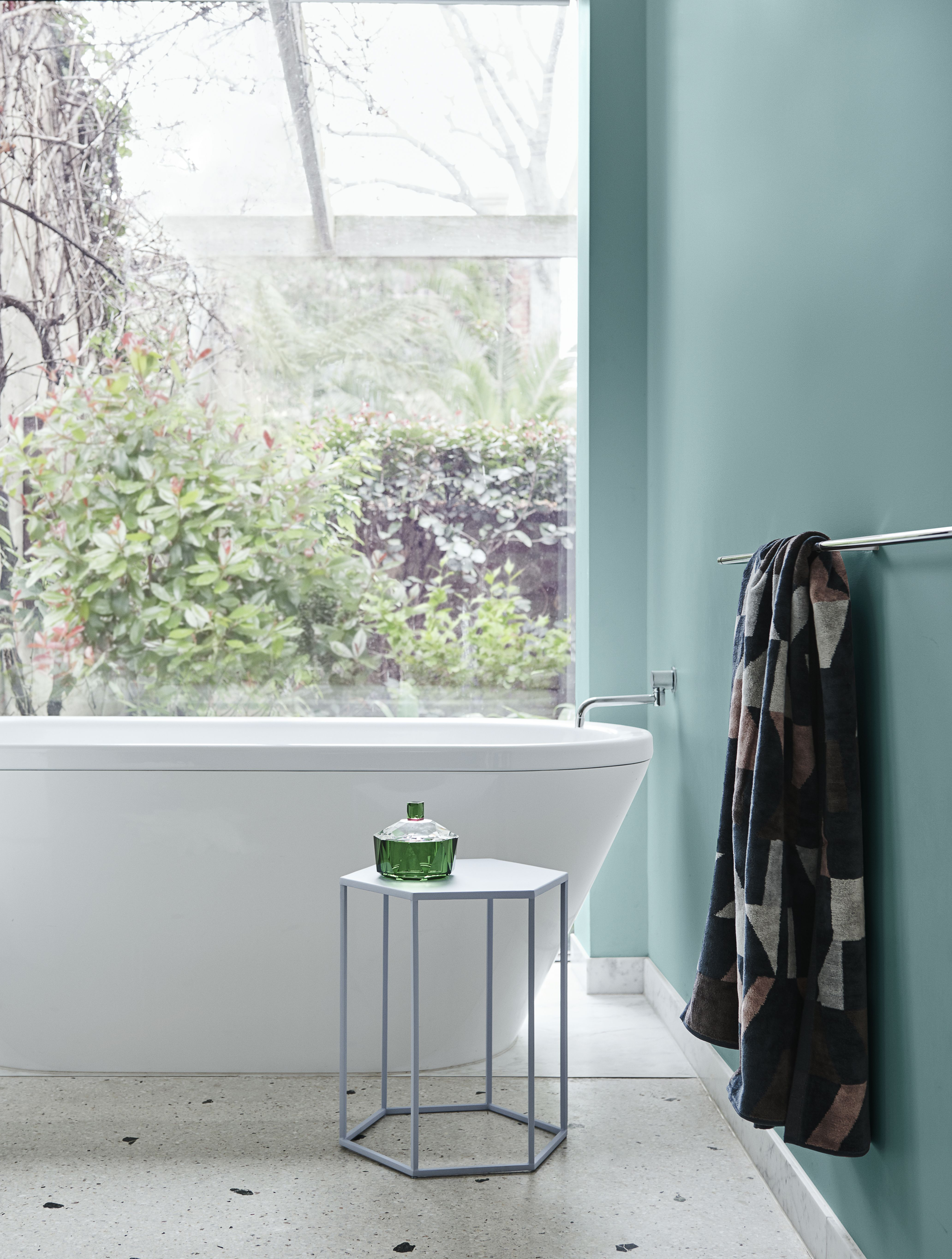Charming Green Bathroom With Outside Garden Views Dulux Colour Dulux Color Forecasting