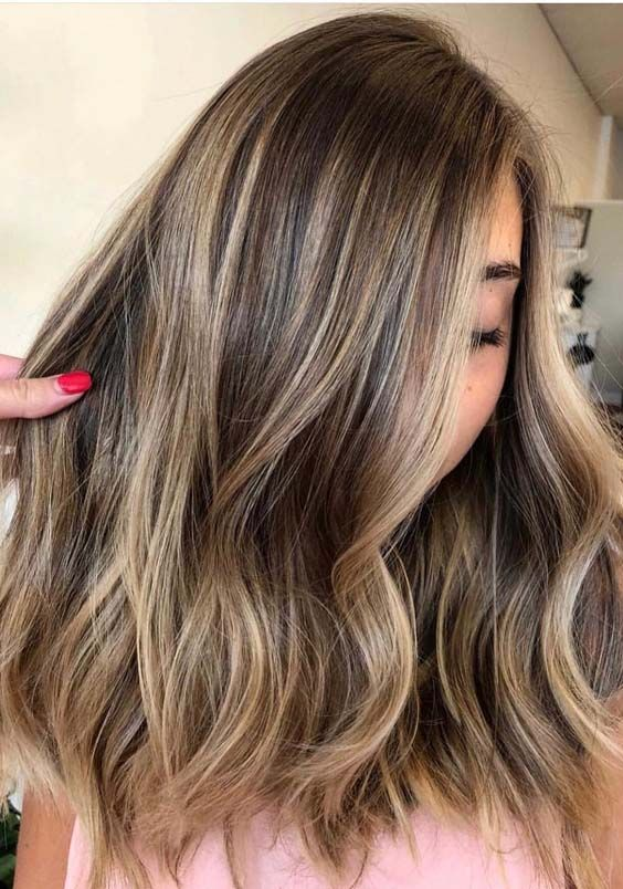 Medium Blonde And Brown Hair Colors In S - Hair Beauty