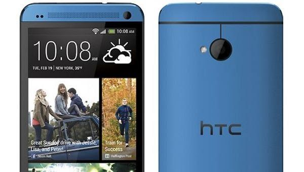 Now the HTC One Blue has appeared for the first time, but still is neither price nor release date of blue HTC One known
