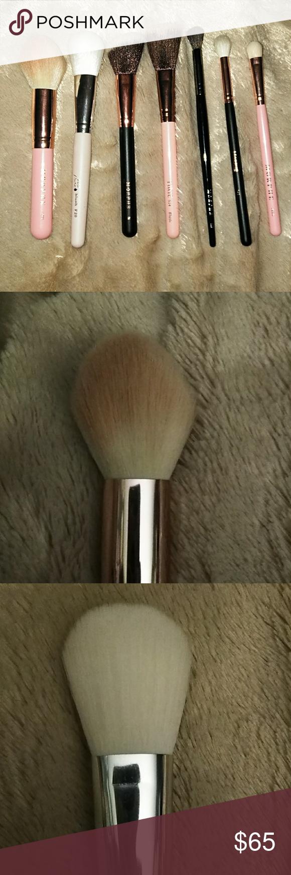 Full Face & Eye Brush Set Luxie Morphe 7pc NWT Eye
