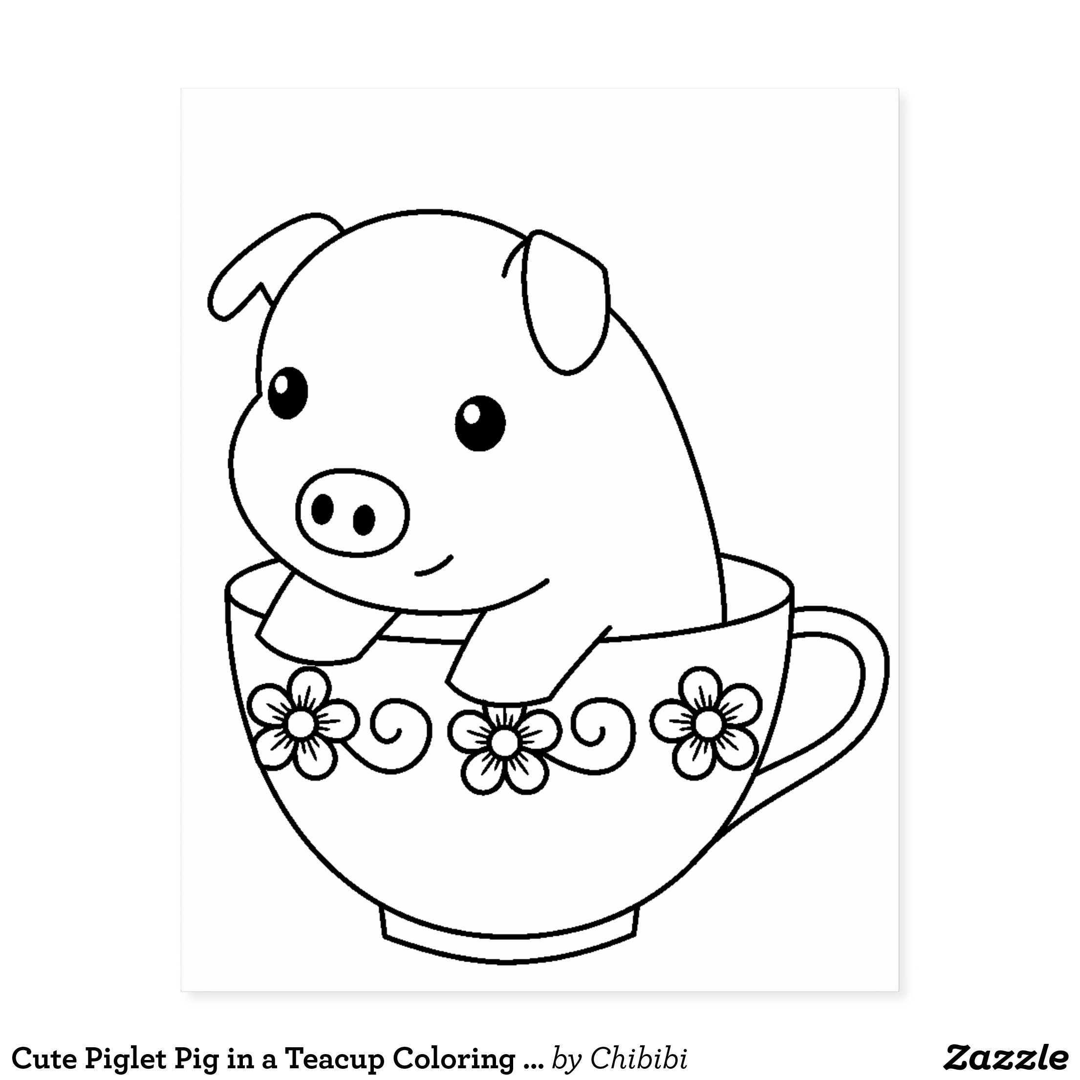 Awesome Piglet Cute Coloring Page Cute Coloring Pages Batman Coloring Pages Piglets Cute
