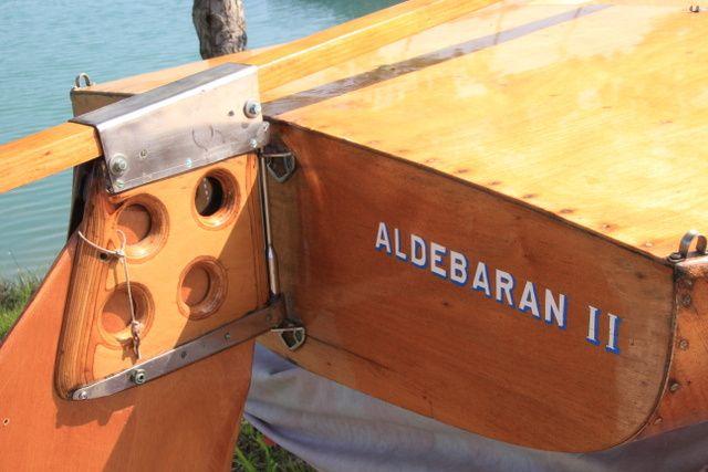 """Aldebaran II"".   Flying Dutchman storico"