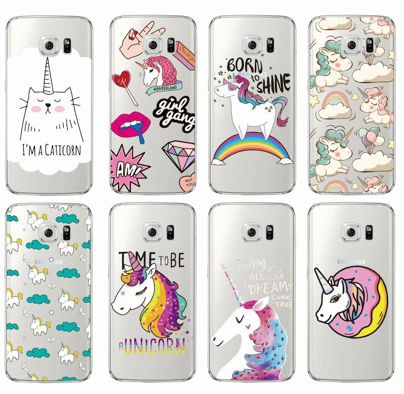 Unicorn Rainbow Cover Case For Samsung