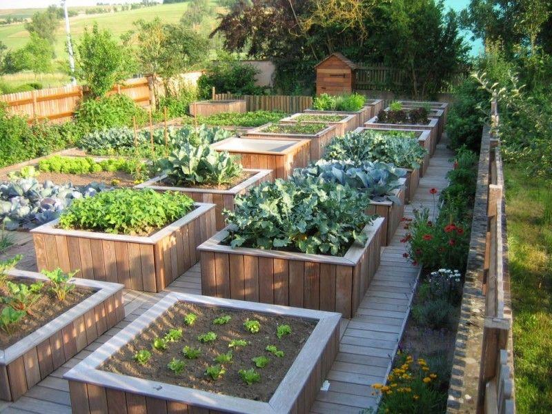 superbe potager en carr 233 ma du verger et potager bio en permaculture potagers