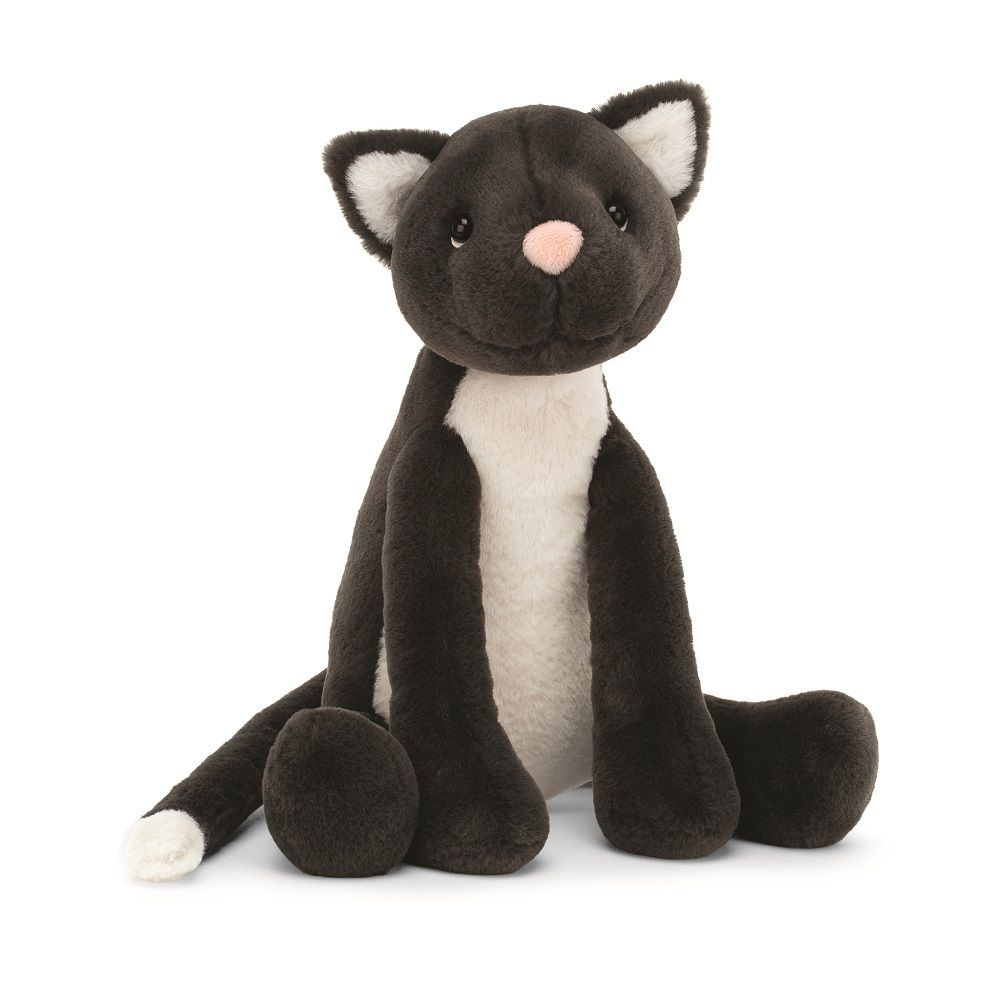 Meg Cat By Jellycat Buy At Cow Lizard In 2020 Cat Soft Toy Jellycat Animal Babies Toys