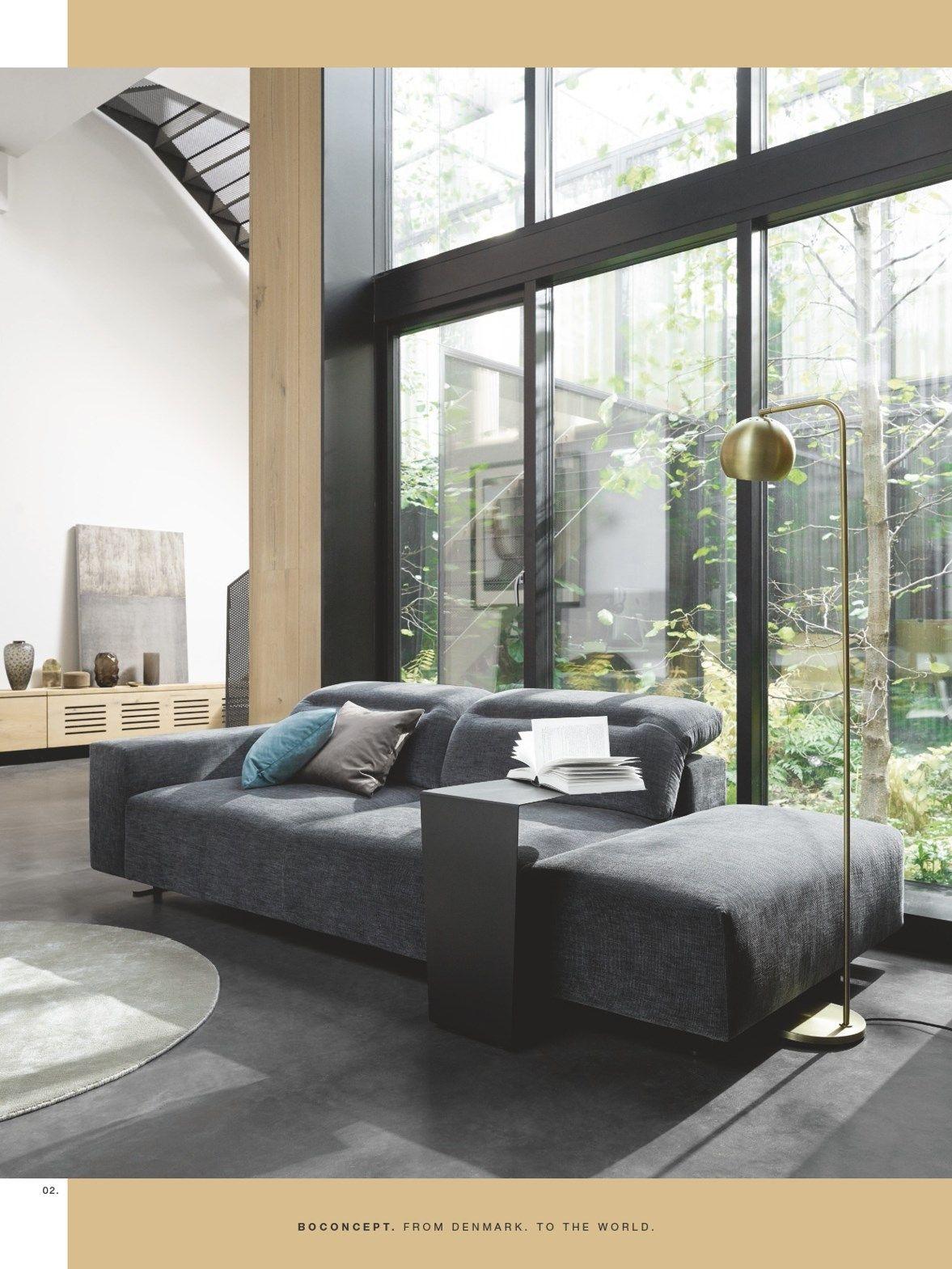 Boconcept From Denmark To The World Page 24 Hampton Sofa Furniture Danish Furniture Design
