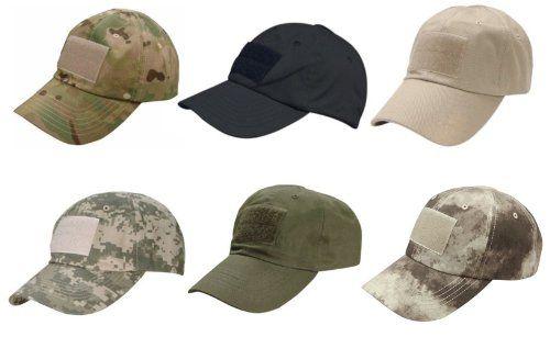 Condor Flex Baseball Cap Mens Police Military Outdoor Hat Tactical Patrol Black