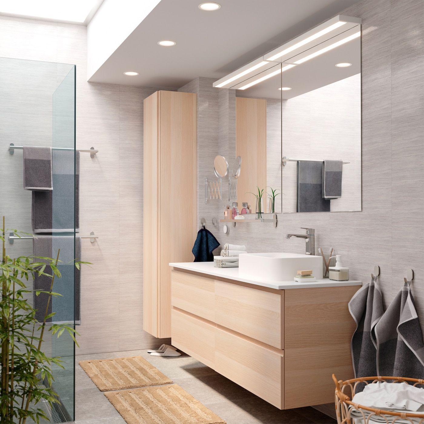 Badezimmer Mit Verstecktem Stauraum Ikea Bathroom Small Bathroom Decor Bathroom Decor