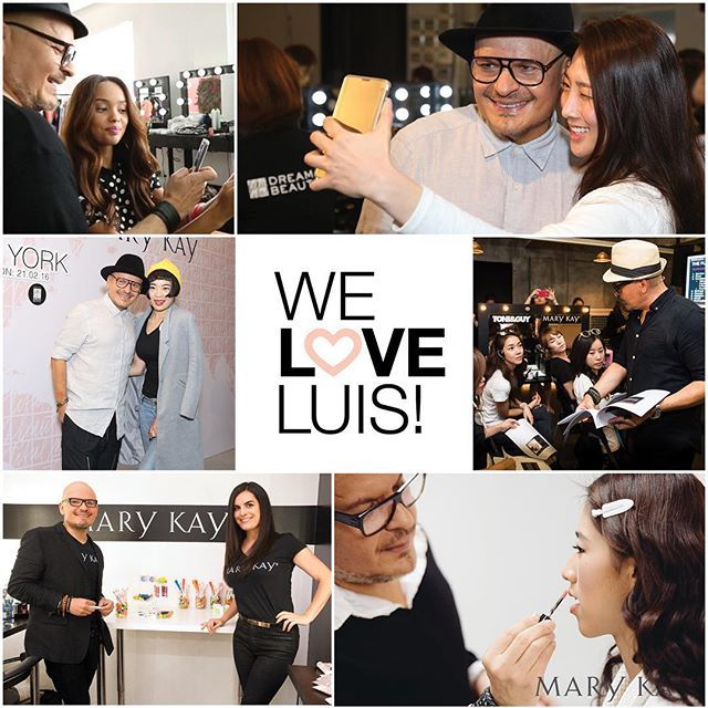 After 20 years of amazing partnership, we celebrate our new #MaryKay Global Beauty Ambassador! #WeLoveLuis and look forward to more upcoming collaboration! @luiscascomakeup #staytuned