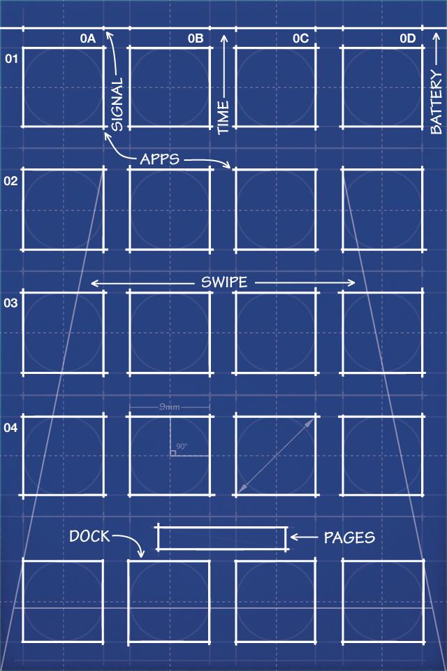 iPhone Blueprint Wallpaper Retina by MrDUDE42.deviantart