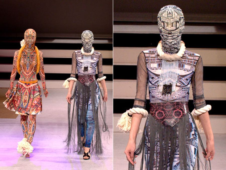 Daphne Mohajer Va Pesaran Imperfect Mandala Bunka Fashion College Japan