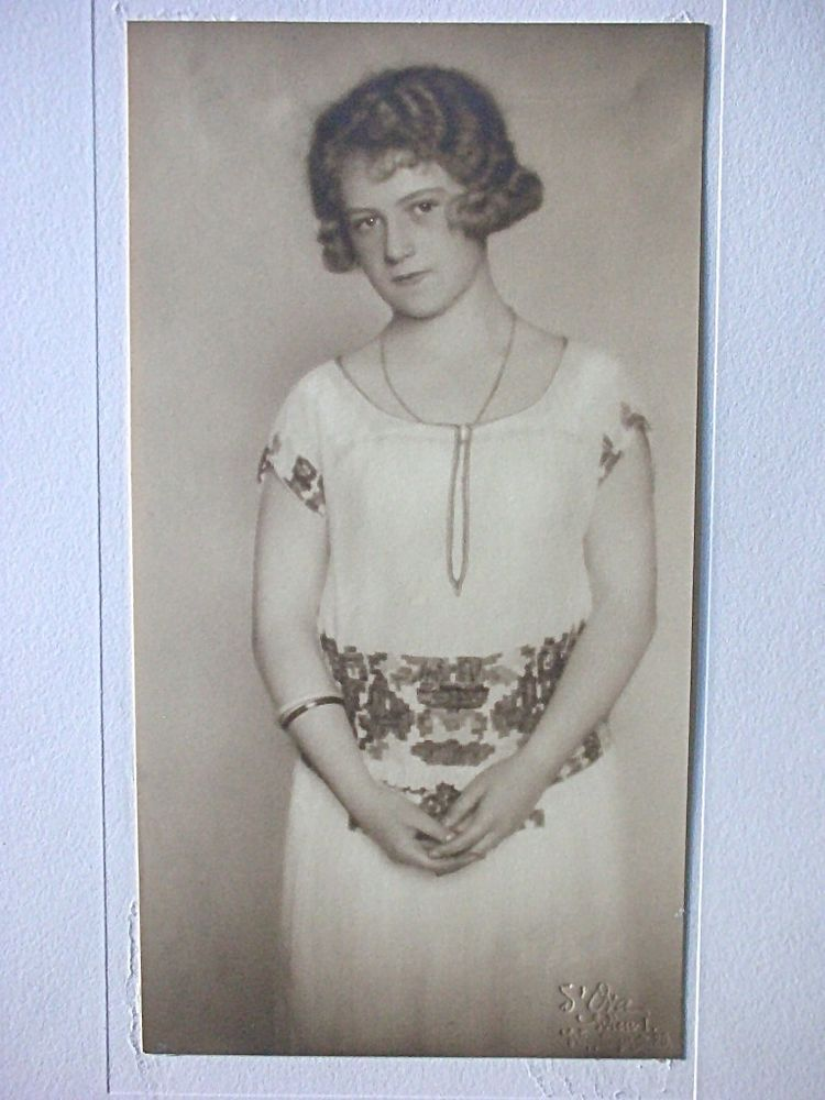 (Dora Kallmus) Madame D'Ora, Fotografie Vintage 20er, Wien, Prägestempel