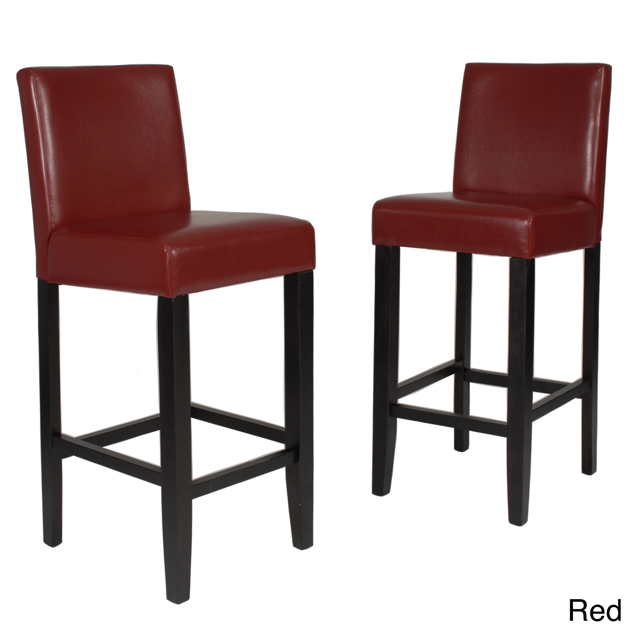 Clay Alder Home Citylight 29 Inch Faux Leather Bar Height Barstool