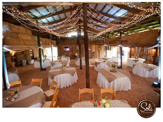 Barn Wedding Picture Tables Burlap Tennessee Wedding Venues